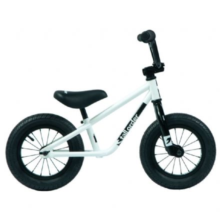 Tall Order 2020 Small Order Balance Bike Gloss White With Black Parts